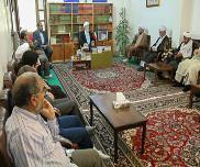 دیدار با امام جمعه و نماینده خبرگان رهبری
